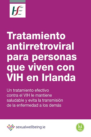 ART for people living with HIV Spanish